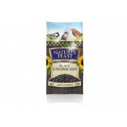 Nature's Feast Black Sunflower Seeds 1.25kg
