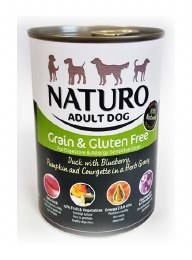 Naturo Adult Duck Tin 390g