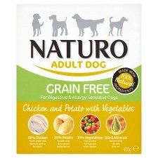 Naturo Adult Grain Free Chicken 400g