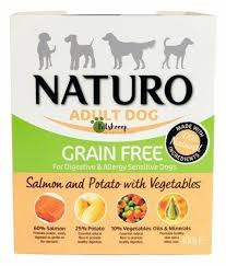 Naturo Adult Grain Free Salmon 400g