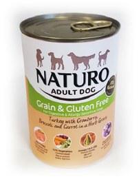 Naturo Adult Grain Free Turkey Tin 390g