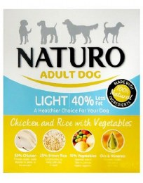 Naturo Adult Light Wet Chicken 400g