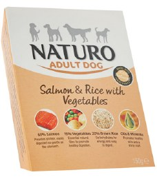 Naturo Adult Salmon & Rice 150g
