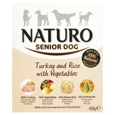Naturo Adult Turkey & Rice 400g