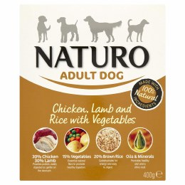 Naturo Adult Wet Chicken & Rice 400g
