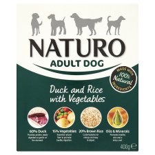 Naturo Adult Wet Duck & Rice 400g