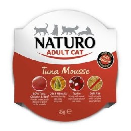 Naturo Cat Tuna Mousse 85g