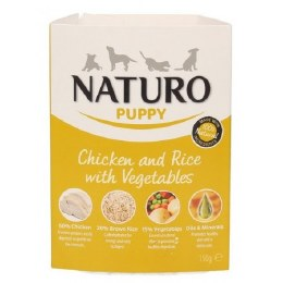 Naturo Puppy Chicken & Rice 150g