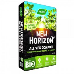 New Horizon All Veg Peat Free Compost 50 Litre
