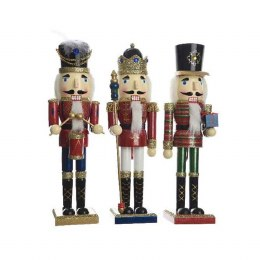Christmas Nutcracker Soldier Wooden Firwood 89cm