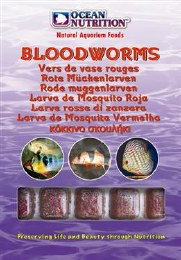 Ocean Nutrition Frozen Bloodworms