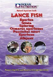 Ocean Nutrition Lance Fish 100g