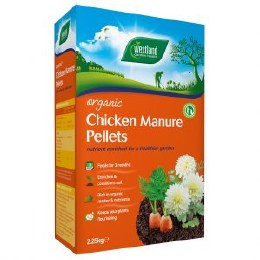 Organic Chicken Manure Pellets 2.25kg