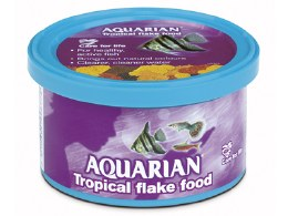Aquarian Tropical Flake Food 25g
