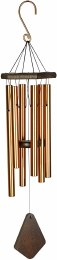 Nature's Melody Wind Chime Bronze 28in