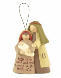 Chrildrens Christmas Nativity Scene on Hanger 6.7x10cm