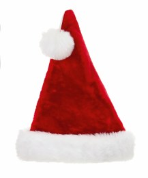 Christmas Santa Hat Red and White Deluxe Plush 53cm