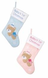 Christmas Stocking Babys First Stocking 45cm