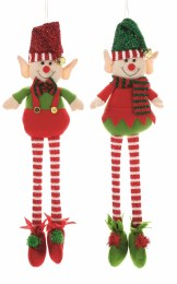 Christmas Elves with Long Legs 63cm