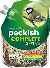 Peckish Complete 5 in1 Seed Mix Pourer 2kg