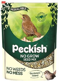 Peckish No Grow Seed Mix Blend 1.7kg