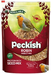 Peckish Robin Seed and Insect Mix 2kg