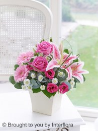 Exquisite Arrangement Pink