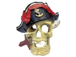 Aquarium Ornament Pirate Skull