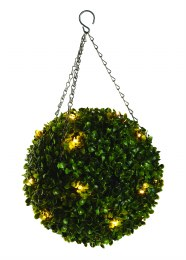 Artificial Topiary Ball Pre-Lit 30cm