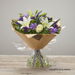 Purple Promise Baby Hand-Tied