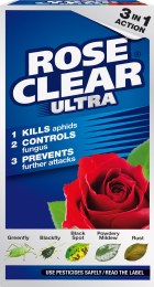 Rose Clear Systemic Fungicide and Insecticide 3 in 1 200ml