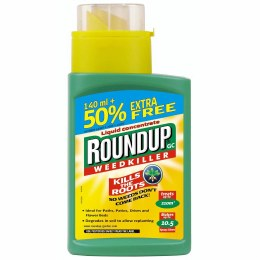 Roundup Concentrate Weedkiller 140ml + 50% Extra Free