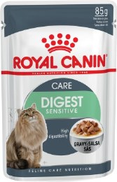 Royal Canin Digest Sensitive in Gravy Cat Food Pouch - 85g