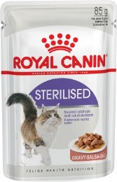 Royal Canin Cat Sterilised in Gravy Cat Food Pouch - 85g