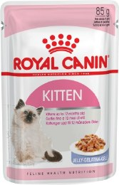 Royal Canin Instinctive in Jelly Kitten Food Pouch 85g