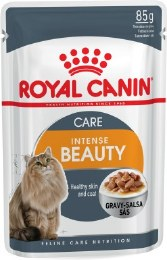 Royal Canin Intense Beauty in Gravy Cat Food Pouch - 85g