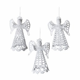 Christmas Angel Made From Crochet