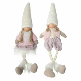 Christmas Fabric Sitting Doll with Long Legs Plush