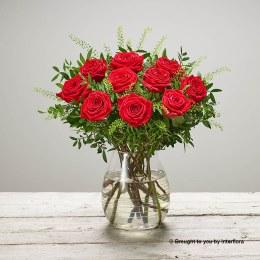 Scarlet Surprise Vase