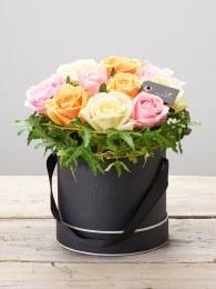 Sherbet Rose Hatbox