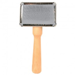 Trixie Soft Slicker Brush Small With Cleaner 11cm