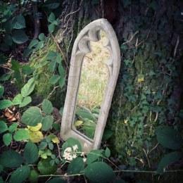 Stone Mirror Small 52cm