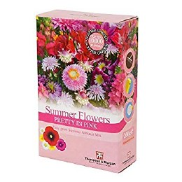 Bee Friendly - Summer Flowers Pretty In Pink Scatter pack