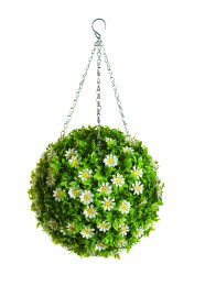 Artificial Topiary Ball Daisy Flower 30cm