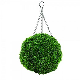 Artificial Topiary Ball Leaf Effect 40cm