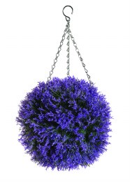 Artificial Topiary Ball Hetaher Effect 30cm