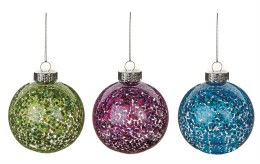 Christmas Bauble Glitter Ball