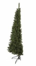 Premier Dual Purpose Corner & Half Wall  Slim Artificial Christmas Tree 6.5 Feet Tall