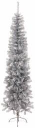 Premier Slim Spruce Christmas Tree Silver 7 Feet Tall
