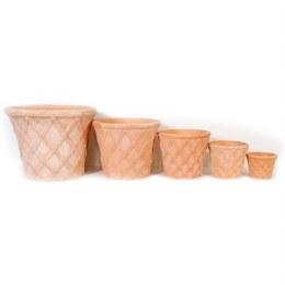 Terracotta Planter Caro 61 x 49cm